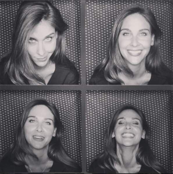 Avant d'être présentatrice télé, elle était mannequin. Ça se voit ! Ophélie sait prendre la pause...