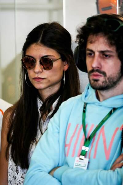 Le couple réuni en marge du Grand Prix d'Australie