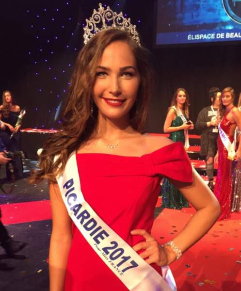 Paoulina Prylutska (19 ans) élue Miss Picardie
