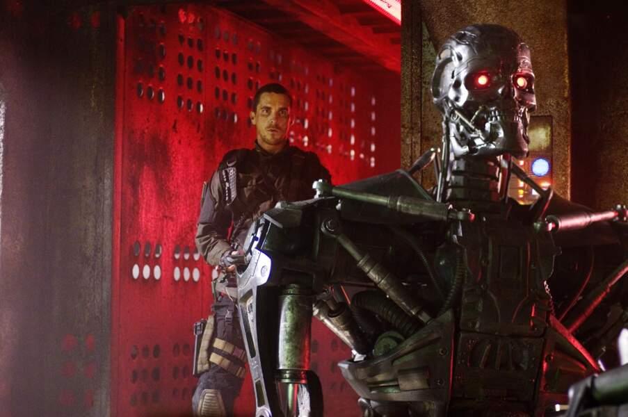 Christian Bale dans la quatrième volet de la saga Terminator : Renaissance
