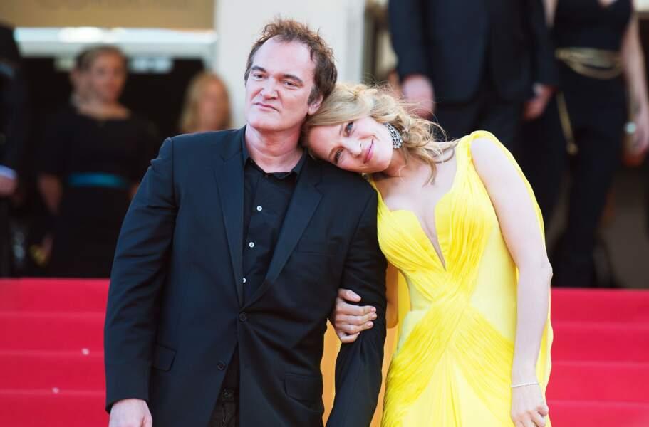 Quentin Tarantino fera appel à Uma Thurman pour trois de ses films, dont le mythique Pulp Fiction.