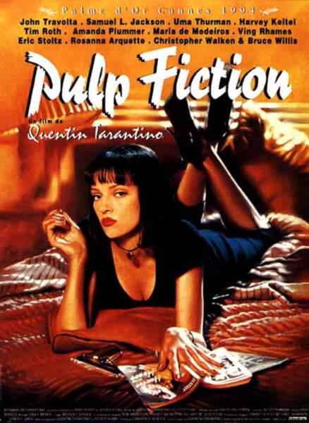 En québécois, Pulp Fiction, Palme d'or à Cannes en 1994, s'intitule...