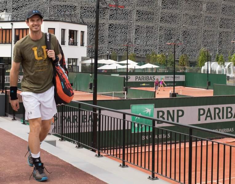 Andy Murray, en mode touriste...