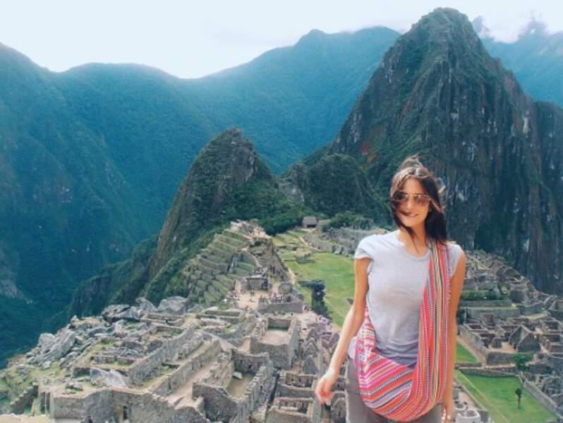 En mode touriste sur le Machu Pichu