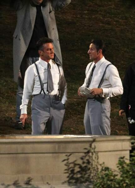 Entre deux scènes, Sean Penn prend du bon temps avec sa doublure