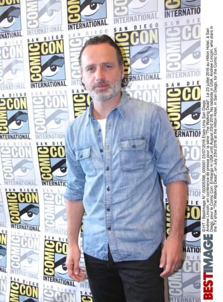 Mais bien sûr, les acteurs de The Walking Dead étaient là, à commencer par Andrew Lincoln (Rick Grimes)