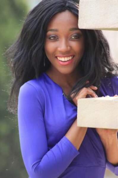 Voici Relebohile Mamaphathe Kobeli, Miss Lesotho