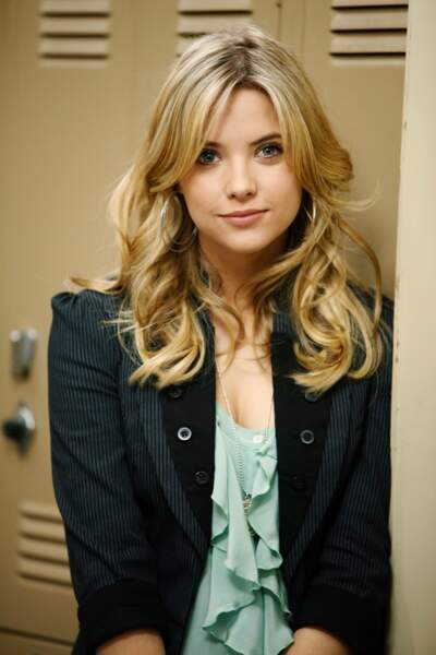 2010, Ashley Benson est la plus jeune du quatuor. A 20 ans elle campe le rôle de la gentille Hanna Marin.