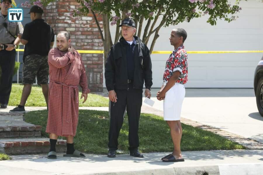 Après l'enlèvement du directeur du NCIS (L. Vance), c'est Gibbs, chef d'équipe, qui en a pris la tête par interim.