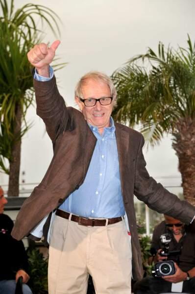 """Le mythique Ken Loach, réalisateur de """"Jimmy's Hall""""."""