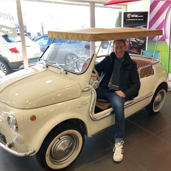 Et en voiture Simone, c'est François Feldman qui klaxonne !