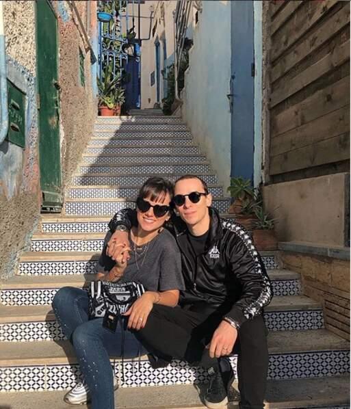 Alizée et Grégoire Lyonnet visitent Tamraght au Maroc