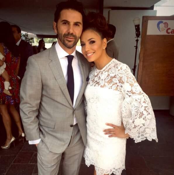 "Avec lui, Eva Longoria rêve d'un ""gros mariage mexicain""."