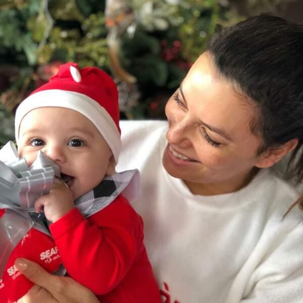 le plus beau cadeau de Noël pour l'ancienne Desperate Housewife et son mari José Bastion
