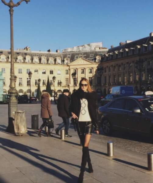 Sanne Vloet a fait un tour Place Vendôme.
