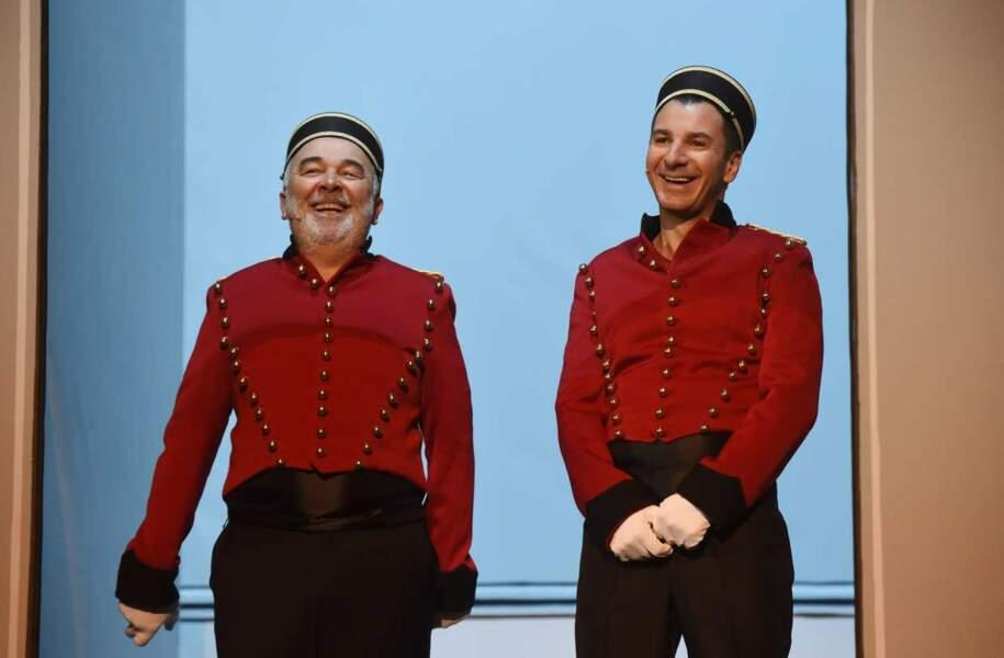 Les grooms Michaël Youn et Gérard Jugnot ont du boulot !