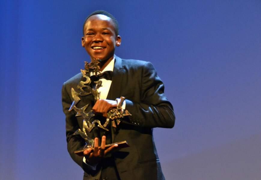 Abraham Attah a reçu le Prix Marcello Mastroianni du meilleur espoir pour Beasts of No Nation