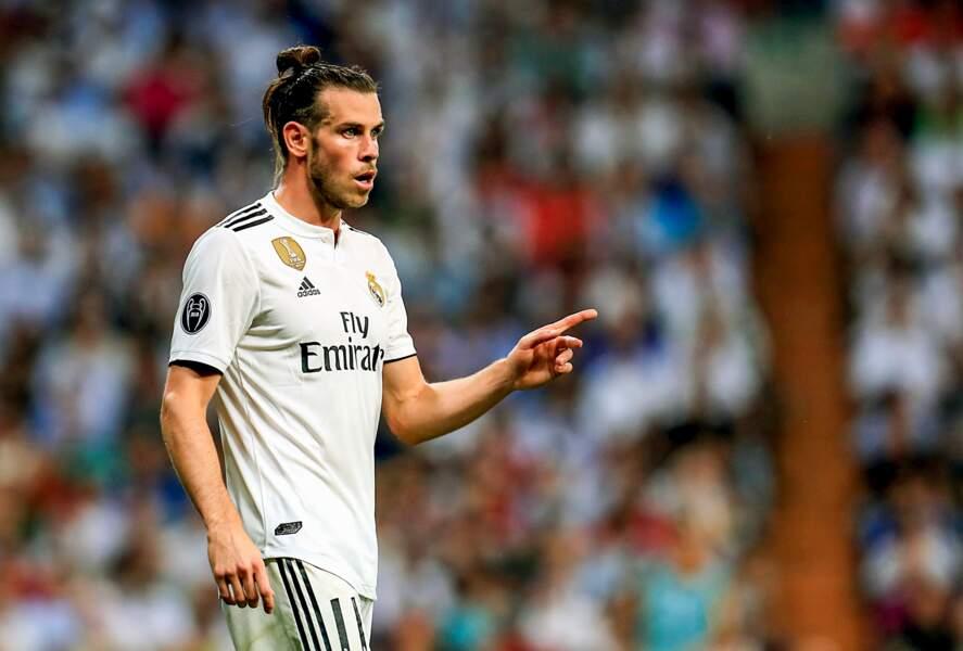 10e : Gareth Bale (Real Madrid), 19 millions d'euros par an