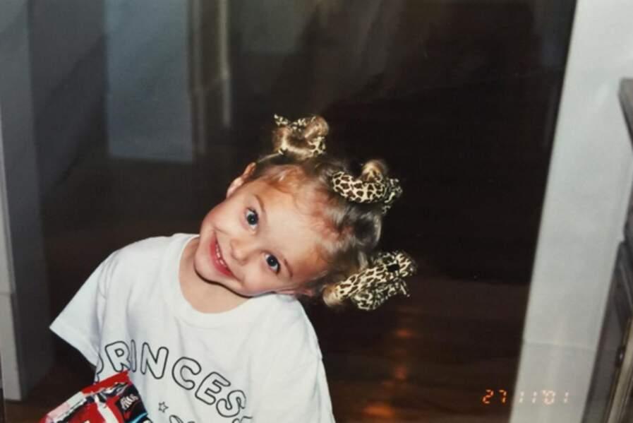 Chloe Moretz, trop chou quand elle était petite.