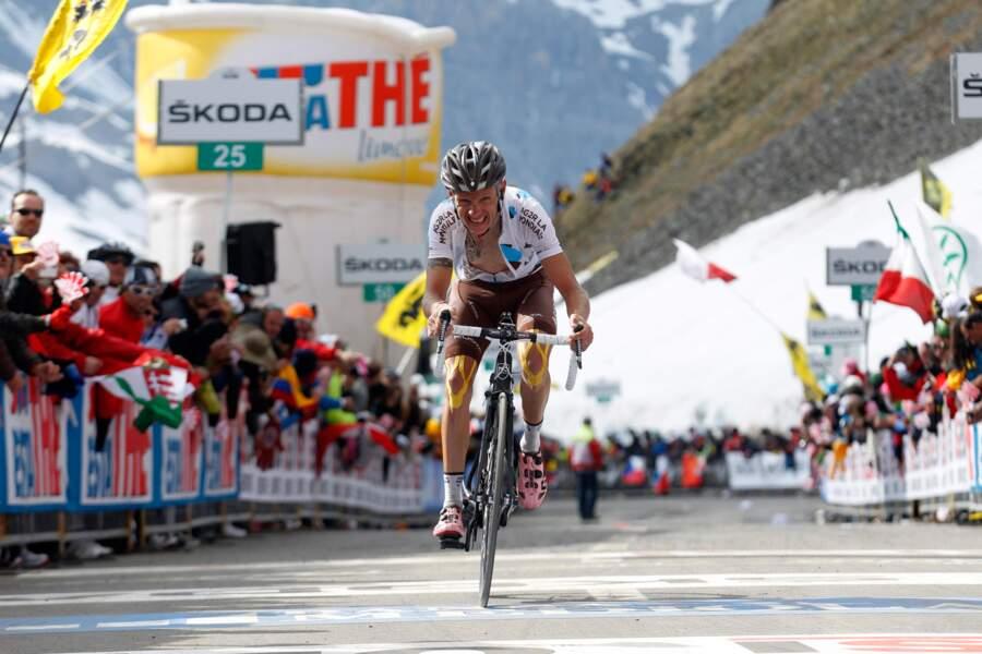 Il ne faut pas oublier John Gadret, 3e du Giro en 2011