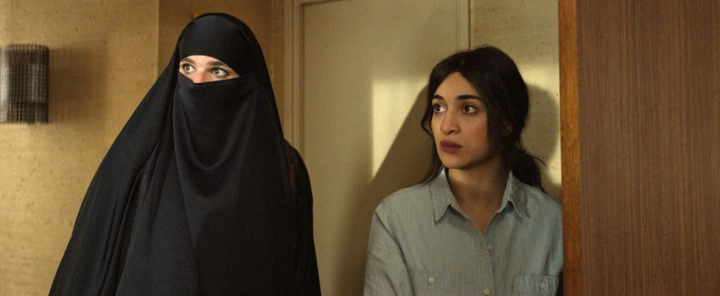 Elle donne la réplique à Félix Moati dans Cherchez la femme (2017)