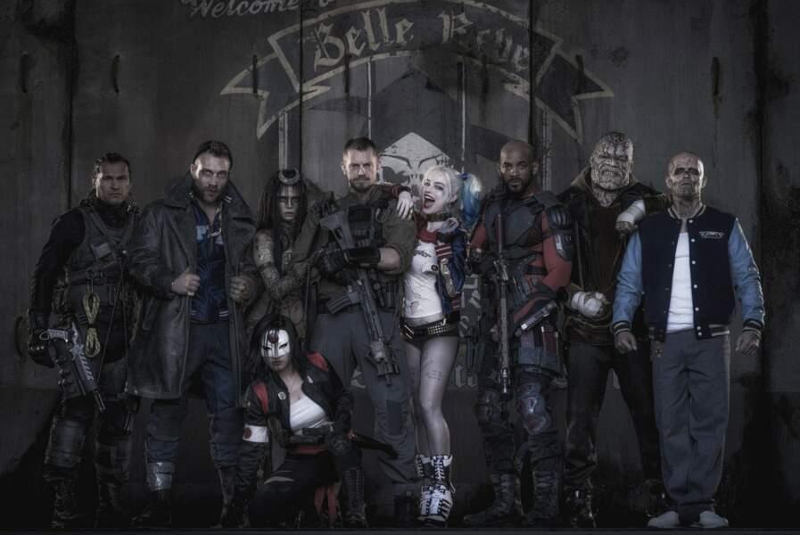 Puis du film de mauvais héros, Suicide Squad en 2016
