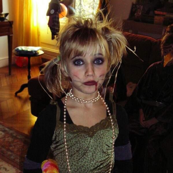 Vous la reconnaissez ? La petite Chloé a bien changé...