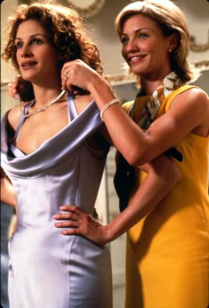 À 25 ans, elle donne la réplique à Julia Roberts dans le mariage de mon meilleur ami (1997)