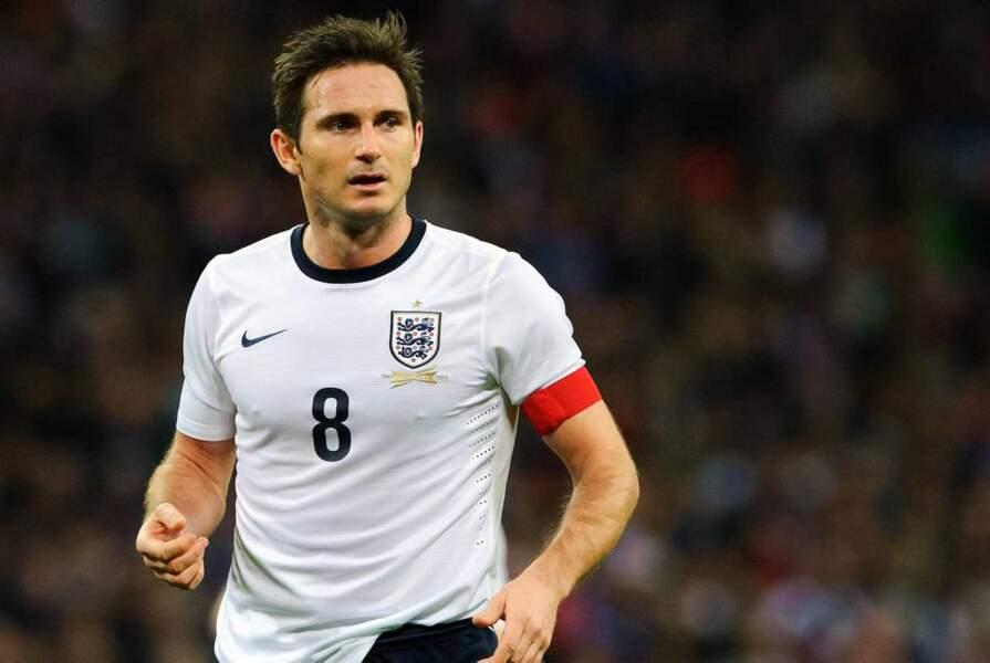 Le footballeur britannique Frank Lampard, 35 ans