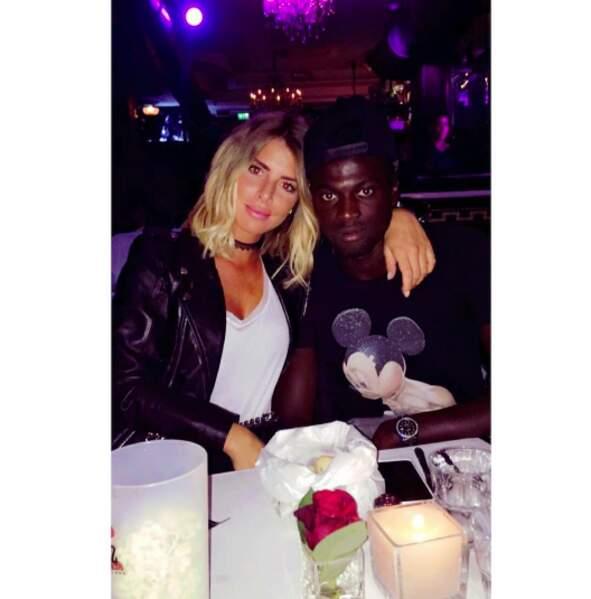 Pour Emilie Fiorelli, c'est plutôt foot : son chéri n'est autre que M'Baye Niang, joueur de l'AC Milan.