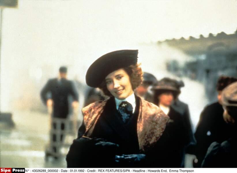 En 1993, elle obtient un Oscar pour son rôle dans le sublime Retour à Howards End
