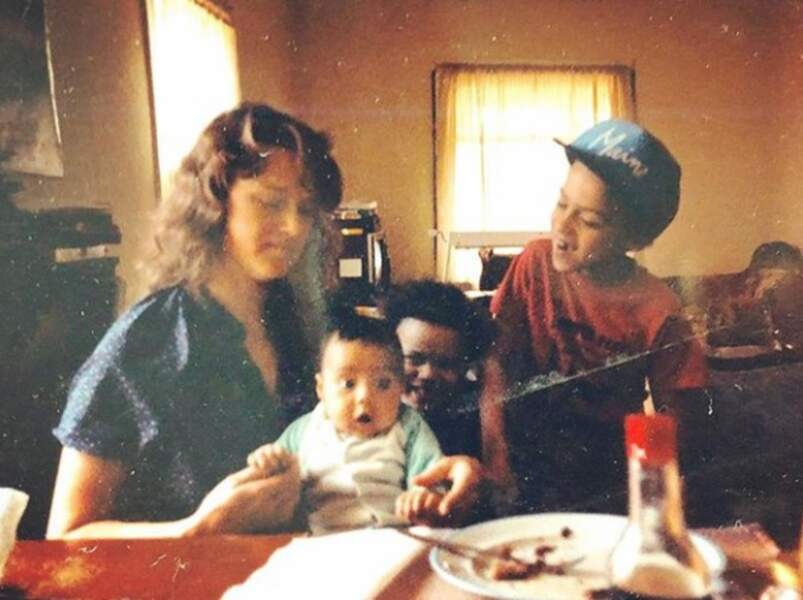 Jesse Williams (Grey's Anatomy) a partagé une photo de famille vintage