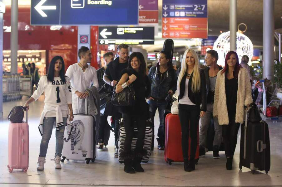 Les Anges 7, c'est parti ! Une nouvelle promotion d'Anges s'est envolée pour Rio, dimanche 11 janvier 2015