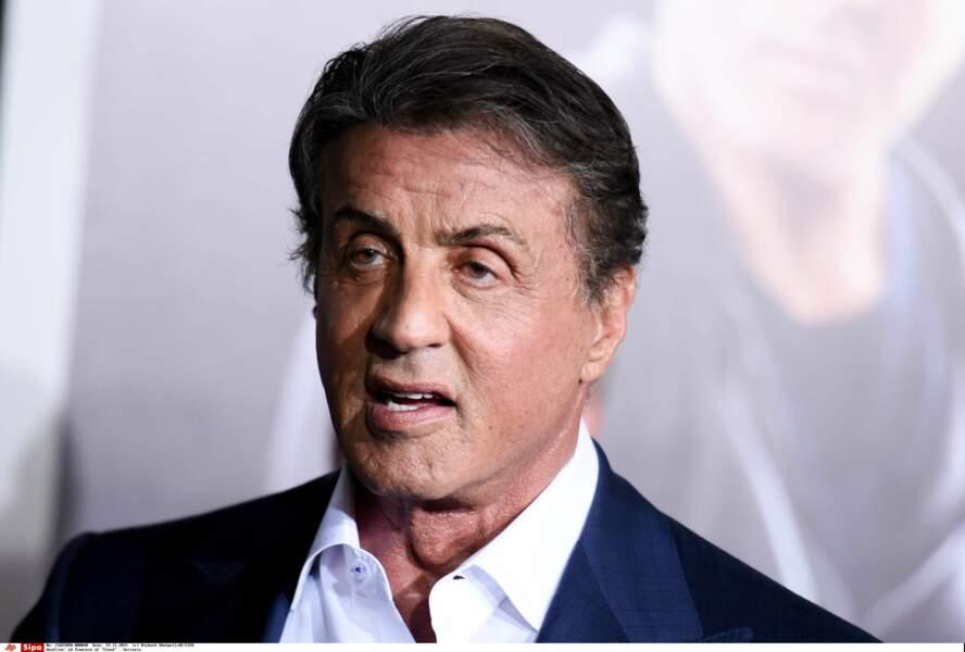 Sylvester Stallone était à l'avant-première de Creed : l'héritage de Rocky Balboa jeudi à Los Angeles