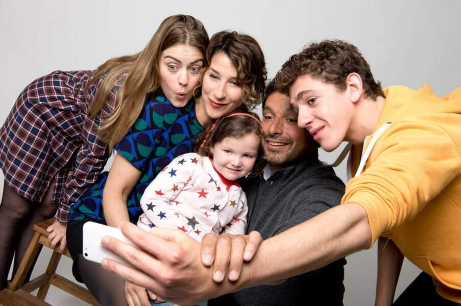La petite Salomé (Myrtille Gougat) a rejoint la famille Bouley lors de la saison 3