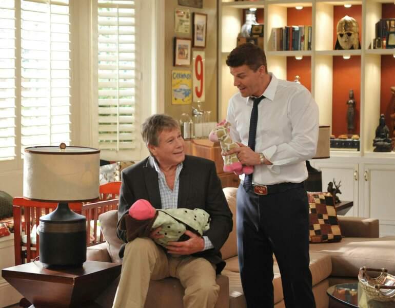 Ryan O'Neal a incarné Max Keenan, le père de Temperance Brennan