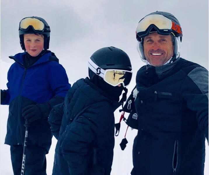 Sans transition : les bronzés font du ski. Volume 1 avec Patrick Dempsey.