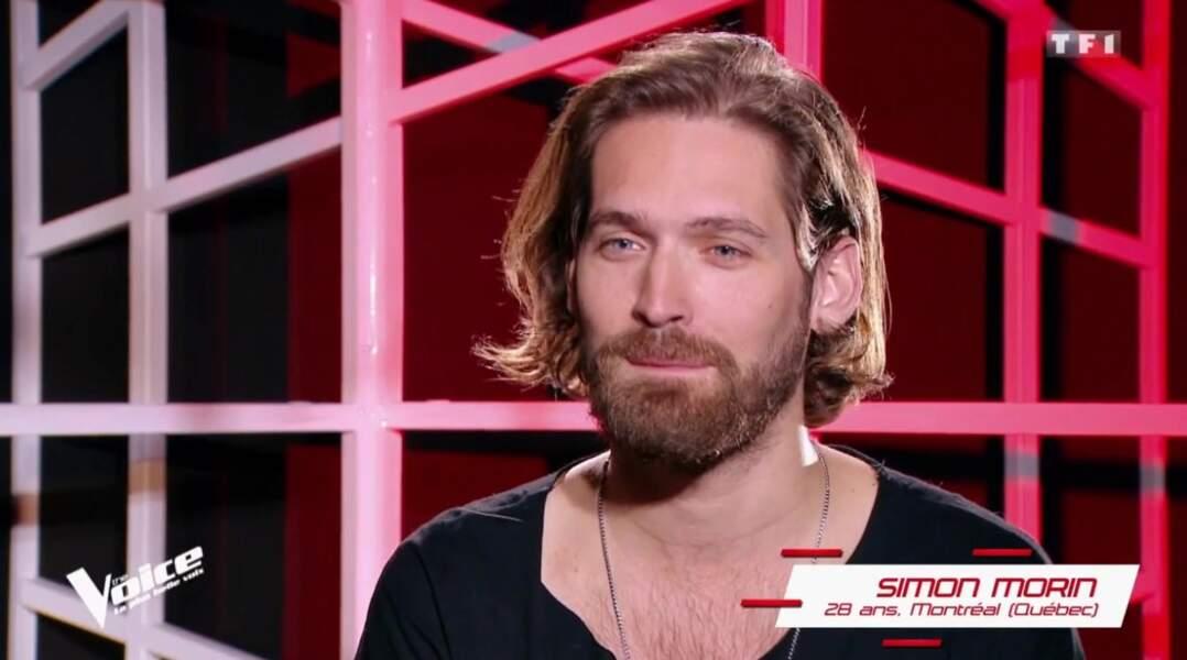 Simon Morin, 28 ans, est dans l'équipe de Mika