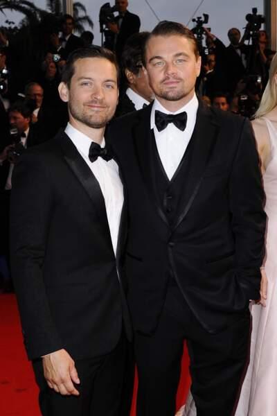 Tobey Maguire et Leonardo DiCaprio : la classe absolue