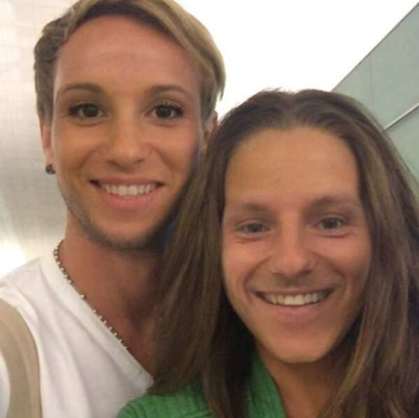 Drôle : le footeux Ivan Rakitic et sa compagne Raquel Mauri ont échangé leurs visages.
