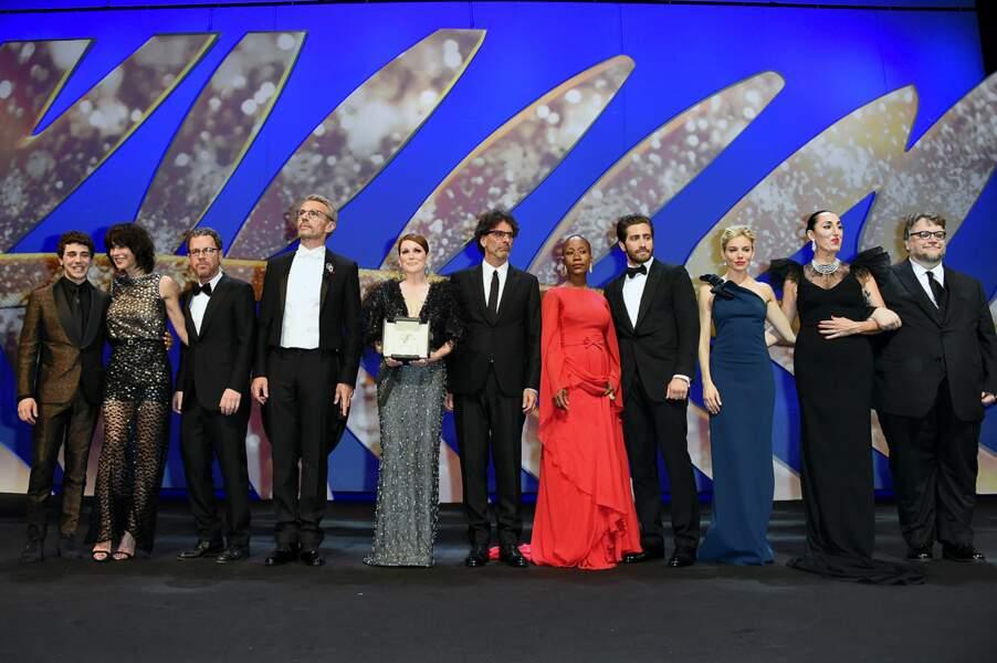 Le jury du 68ème Festival de Cannes au complet