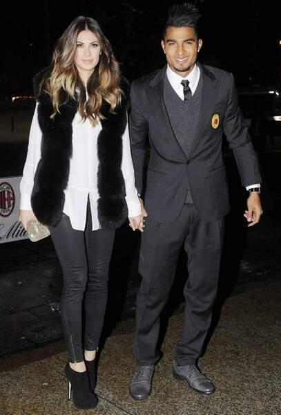 Elle est la compagne du milieu de terrain ghanéen du Milan AC, Kevin-Prince Boateng...