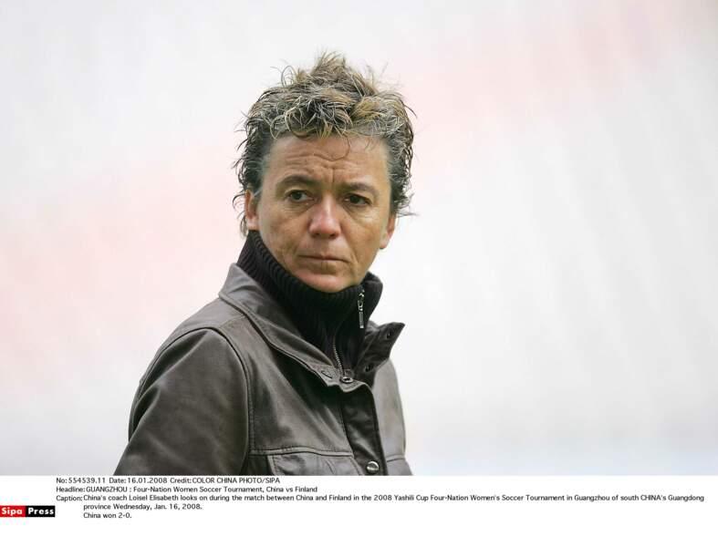 Elisabeth Loisel (1980/1989) a été l'une des artisans de la victoire des Bleus lors du Mondial 1998