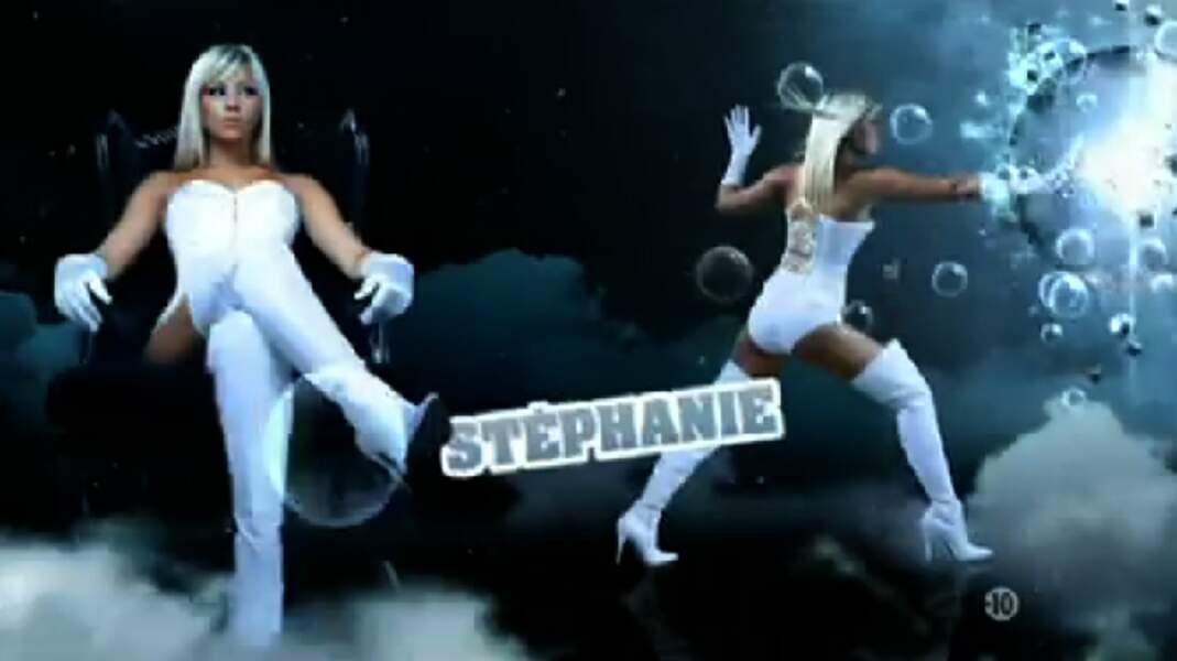 """Stéphanie (Saison 4). Son secret : """"Nos ex' sont dans la maison"""" (avec Coralie et Senna)"""