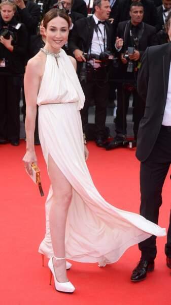 On ne pouvait pas louper les jambes d'Elsa Zylberstein !