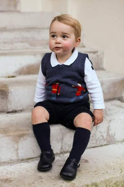 Un vrai petit garçon modèle
