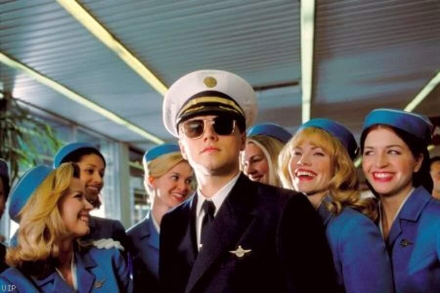La carrière de DiCaprio est belle et bien lancée ! Il décroche le premier rôle d'Arrête-moi si tu peux de Spielberg