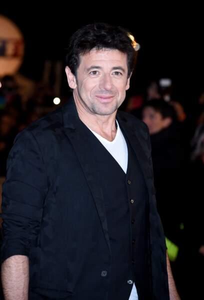 Patrick Bruel sur le tapis rouge des NRJ Music Awards