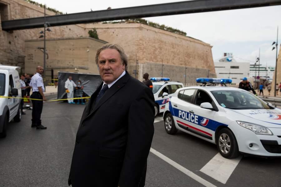 Avec Gérard Depardieu (Robert Taro)