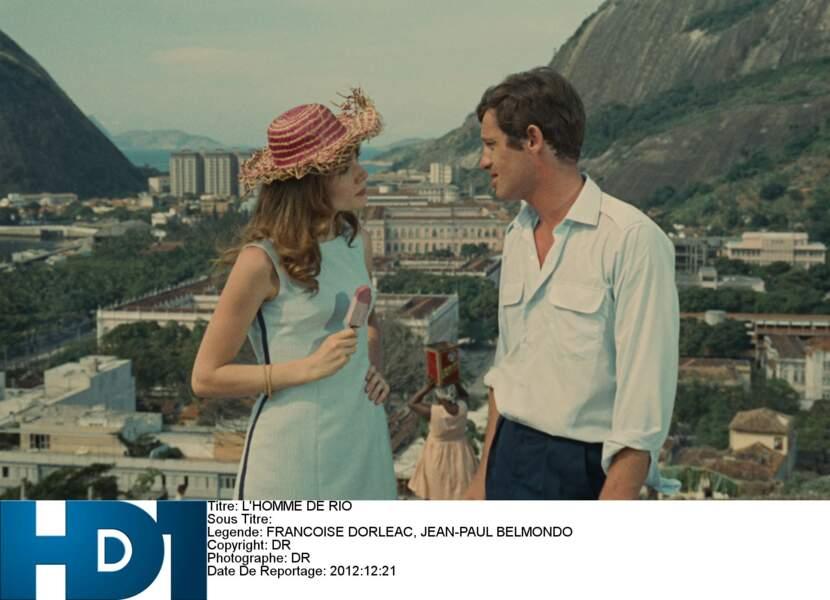 1964 : sous la direction de Philippe de Broca, il est Adrien, prêt à tout pour retrouver sa fiancée kidnappée